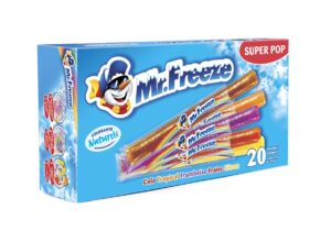Mr FREEZE POP, BTE DE 20