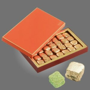Nougastelles, 18 pieces 190g, chocolat Weiss